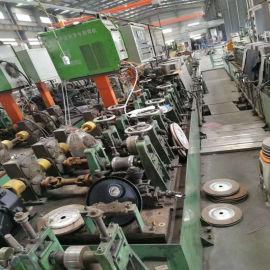 二手40-120不锈钢装饰圆管制管设备 方管圆管镀锌管制管成型机