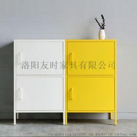 洛阳友时金属储物柜彩色餐边柜收纳置物柜阳台柜