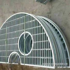 安平厂家镀锌排水栅板沟盖镀下水铁篦子防滑踏步钢格栅板钢格板