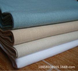 麻布面料 竹节大肚仿麻装饰布沙发布料 涤纶布装饰麻布