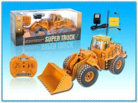 遥控类玩具 - 1: 10遥控推土工程车