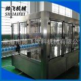 热销供应 自动三合一灌装机 全自动灌装机 全自动冲洗装封口机
