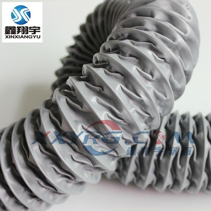 深圳耐高温风管,尼龙布通风管,排风管,伸缩风管规格齐全8寸批发