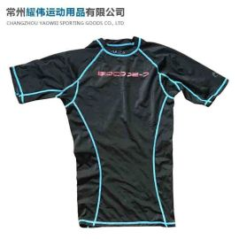 运动莱卡衣,健身跑步运动莱卡衣