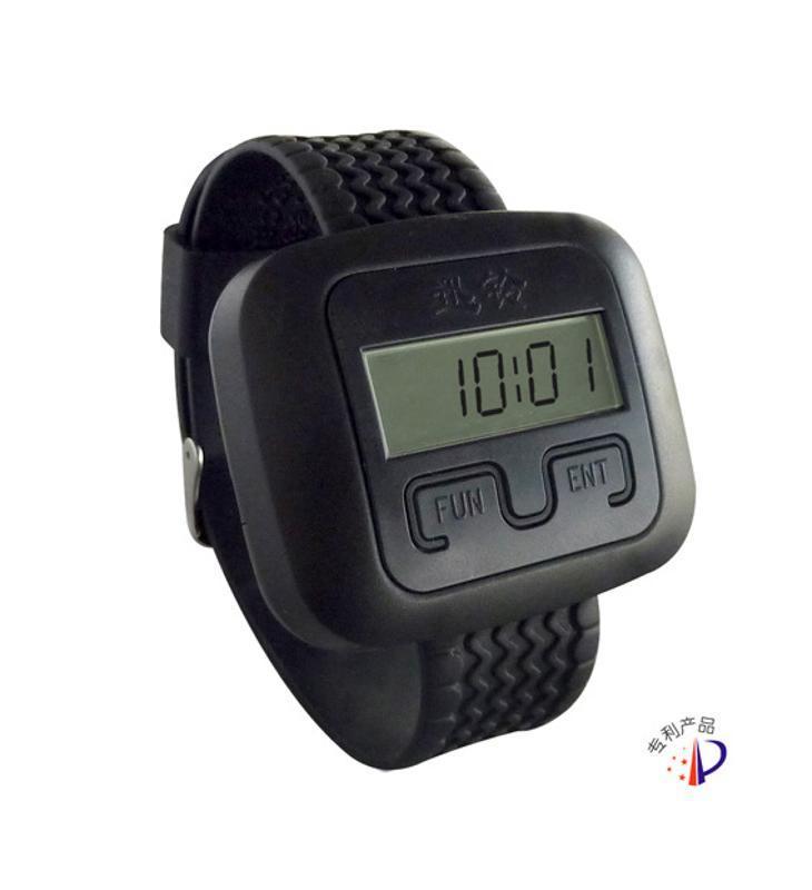 迅鈴大堂茶樓震動腕手錶振動報 銀行無線呼叫器系統