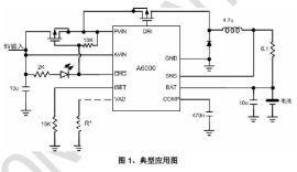 单节锂电池简洁2A充电IC