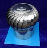400型450型無電機屋頂風機無動力排風機屋頂風帽不鏽鋼風帽