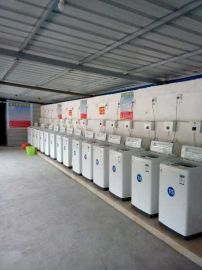 洪湖荊州刷卡投幣洗衣機商用