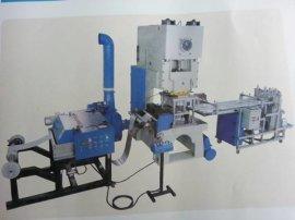 张家港市中翔全自动铝箔容器模具生产线