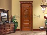 杭州歐式原木門定做 實木復合烤漆門 門套廠家定制