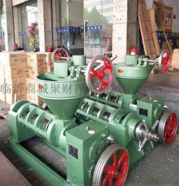 供应四川自贡聚财牌小型立式全自动榨油机