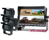 12/24V4画面分割收割机倒车影像系统