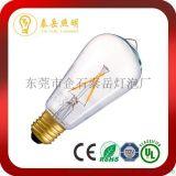 廠家直銷ST64LED燈絲燈 LED360度鎢絲燈泡