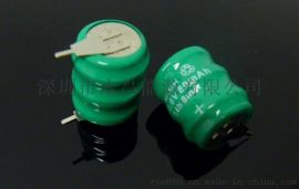 扣式鎳氫電池NI-MH 80MAH 3.6V充電電池