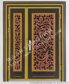 豪华红古铜不锈钢激光艺术楼空门花定制 彰显独特