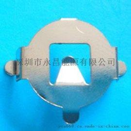 AG3弯角电池卡座 电池弹片