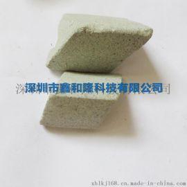 厂家直销优质棕刚玉斜三角磨料 粗磨去毛刺毛边倒角研磨石