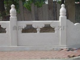 供应绿色大理石栏杆、白色石材栏杆