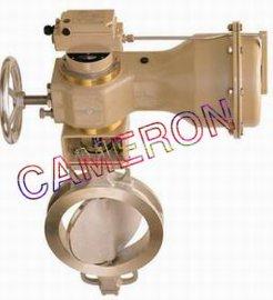 进口气动调节蝶阀(法兰,焊接,对夹)英国卡麦隆CAMERON品牌-英国卡麦隆阀门