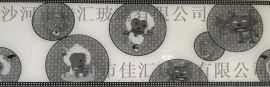 沙河佳汇厂家批发银纹、冰花、5D镭射各种腰线玻璃