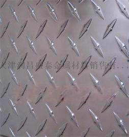 现货供应1060花纹铝板,1060防滑铝板,五条筋花纹铝板