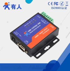 有人RS232/485/422转以太网设备USR-TCP232-306串口服务器