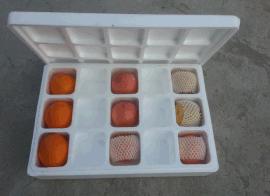 分隔式水果泡沫包装箱