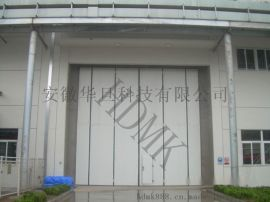 不锈钢折叠门,电动折叠不锈钢门,保温折叠门电动门