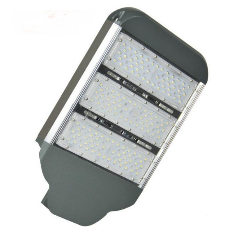 廠家直銷壓鑄路燈頭 led 型材模組燈頭 戶外60W貼片路燈外殼套件