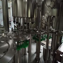 蛋白玻璃瓶饮料灌装机 凉茶酒水饮料灌装机 三合一果汁饮料灌装机