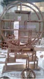 供应各种样式不锈钢酒柜 异形不锈钢酒架 来图加工