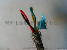 双绞屏蔽电线RVSP 2*0.3平方PVC 绝缘屏蔽线 发射机线 RS485通讯电缆