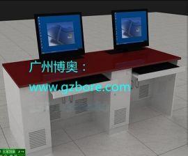 钢木显示器升降电脑桌