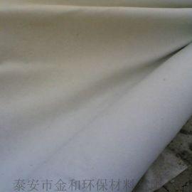 宁夏高速路土工布施工,金和牌短纤布,防渗复合布厂家