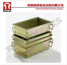 镀锌零件桶(L410*W245mm)/锌板箱/储物箱/周转箱