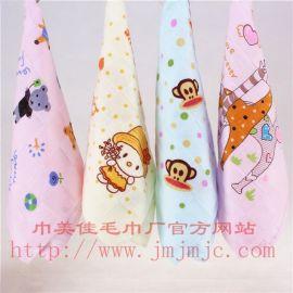 巾美佳30克25*50双层纱布印花儿童毛巾