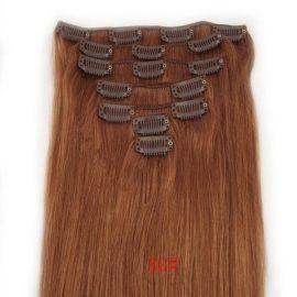 加工生产    真人发卡子发 机织顺发卡子发 欧美假发片 7件套