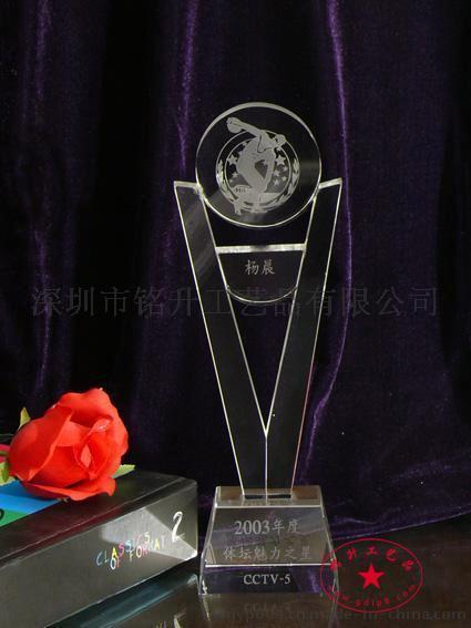 科技進步獎  科技創新獎 創意水晶獎盃