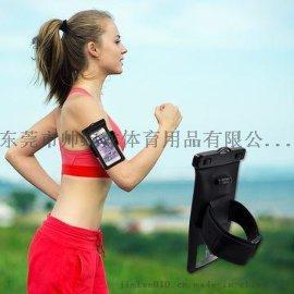 环保透明PVC防水手机袋绿色无毒款
