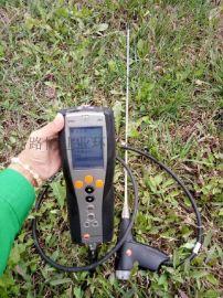 环境监测站  德国德图testo340烟气分析仪