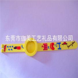 供应PVC软胶手表带 卡通手表带 广告手表带