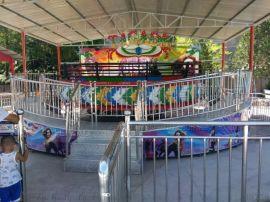 迪斯科转盘设备 疯狂迪斯科游乐 儿童旋转游乐项目
