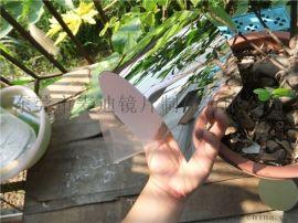 塑料玻璃镜片 亚克力反光镜 pc双面镜