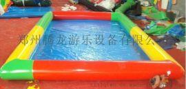 充气沙滩池 海洋球池 玩沙池 沙滩玩具