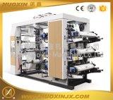 厂家直销NX型 6色立式柔版印刷机 层叠式纸张柔印机 宽幅1300mm