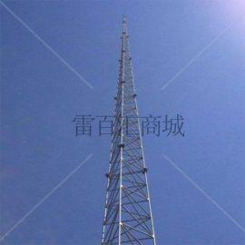 15米三角避雷塔, 三角圆钢独立避雷塔