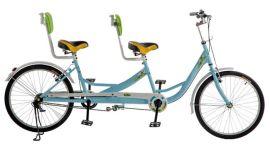 信尔胜20寸折叠双人自行车
