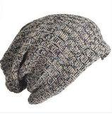 歐美中性流行雙紗混織雙層鬆垮加長比尼帽