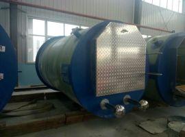 一体化污水提升泵站 一体化预制泵站 地埋式污水处理泵站雨水