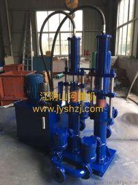 压滤机进料泵:强自吸、排出压力大,配套压滤机入料输送含颗粒料浆。